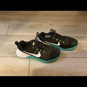 Nike Metcon 1 Womens 6.5 Teal/ Black Lauren Fisher